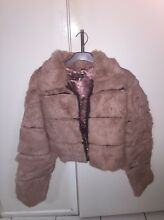 Faux Fur cropped coat Kotara South Lake Macquarie Area Preview