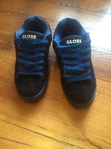 Black/blue globe skate shoes size. 10 Leongatha South Gippsland Preview