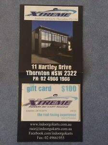 Xtreme go-karts gift card $100 Carrington Newcastle Area Preview