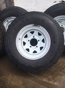 16 inch Sunraysia land cruiser 5studs with near new tyres Ferntree Gully Knox Area Preview