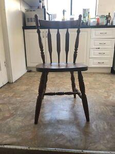 Wood chair Bondi Beach Eastern Suburbs Preview