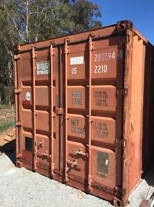 Lined sea container with aircon Mundaring Mundaring Area Preview