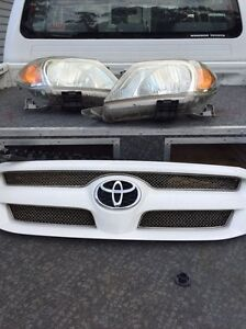 Toyota Hilux grill and head lights Fairfield Heights Fairfield Area Preview
