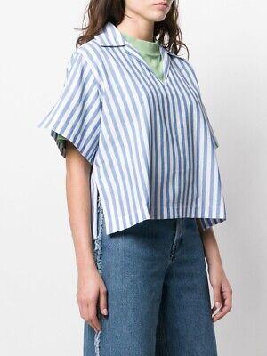 Acne studios Sasha Stripe Shirt Sz 38