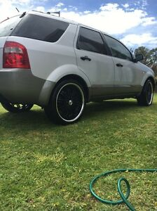 2005 ford territory 7 seater Claremont Glenorchy Area Preview