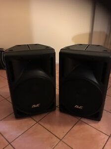 2 x AVE revo 15 powered speakers Dubbo Dubbo Area Preview