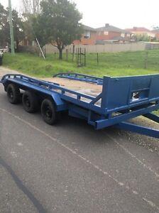 Tri axle car trailer/plant trailer Hallam Casey Area Preview