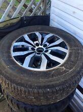 VW Amarok Canyon 17 inch wheels with 265/70R17 & spare 265/65R17 Runcorn Brisbane South West Preview