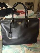 Prada Saffiano Lux Large Double-Zip Tote - BLACK Frenchs Forest Warringah Area Preview