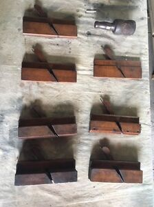 Antique set of 7 planes including donger Burwood Heights Burwood Area Preview