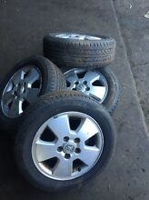 195/60 R15 holden Astra mags with Tyers Brendale Pine Rivers Area Preview