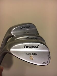 Cleveland 588 RTX wedges - LEFT handed Evanston Park Gawler Area Preview