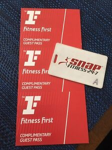 Snap fitness two weeks + card and 3 fitness first passes Randwick Eastern Suburbs Preview