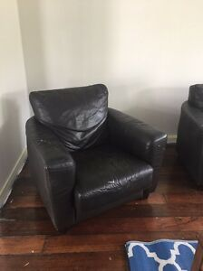 Leather Lounge Suite Free East Maitland Maitland Area Preview