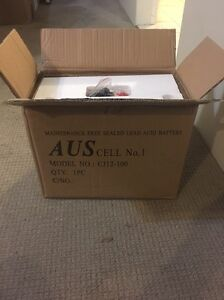 100 AH 12V battery in box Hornsby Hornsby Area Preview