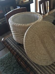 Two woven storage baskets Botany Botany Bay Area Preview