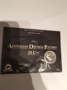 2009 Australian 1966 Decimal Pattern 20 cent Darch Wanneroo Area Preview