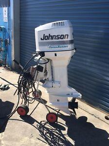 150hp Johnson outboard motor Bonnells Bay Lake Macquarie Area Preview