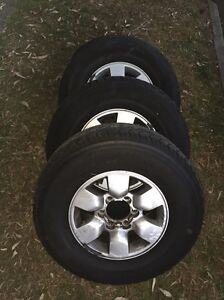 Toyota Hilux wheels and tyres Chiswick Canada Bay Area Preview