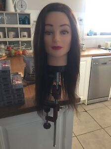 Hairdressing Mannequin (Long Hair) and Clamp Seaford Morphett Vale Area Preview