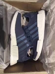 ADIDAS NMD SLATE BLUE/WHITE DS SIZE US 7.5 MENS/US 9 WOMENS NEW Angle Park Port Adelaide Area Preview