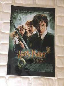 HARRY POTTER POSTER BUNDLE (6 POSTERS - LAMINATED ALMOST NEW) Angle Park Port Adelaide Area Preview