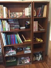 Book shelves. Condell Park Bankstown Area Preview