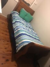 Solid wooden Single bed with mattress.. 2 years old Wetherill Park Fairfield Area Preview