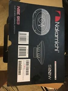 Brand New Car Speakers Never Used Cairns Cairns City Preview