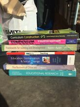 Master of Education and child care textbooks for sale Daceyville Botany Bay Area Preview