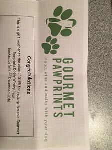 Gift Voucher Gourmet Pawprints Doggy Winery Narre Warren Casey Area Preview