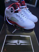 Nike Air Jordan's 5 size US 6Y North Sydney North Sydney Area Preview