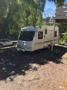 Caravan 5 berth elddis shower toilet with remote motor mover Wonga Park Manningham Area Preview