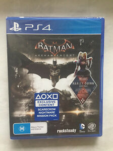 Batman Arkham knight PS4 game Boondall Brisbane North East Preview