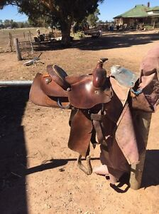 Barrel racing saddle 13 inch fqhb Devenish Benalla Area Preview