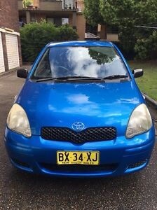 Toyota Echo 2003 Rego Immaculate Homebush West Strathfield Area Preview