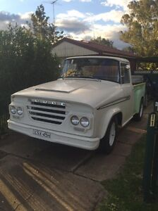 1963 Dodge pickup At4 114. 12months rego Quakers Hill Blacktown Area Preview