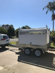 Custom alloy trailer 6months old Ocean Shores Byron Area Preview
