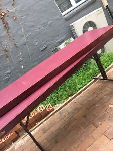 Used folding tables Lane Cove North Lane Cove Area Preview