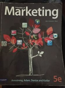 selling textbook  principle of marketing Surry Hills Inner Sydney Preview