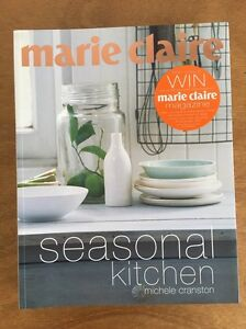 Marie Claire. Seasonal Kitchen. Recipe Book Mosman Park Cottesloe Area Preview