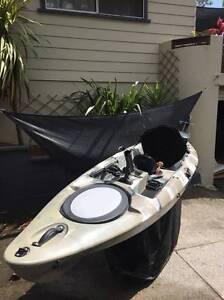 MOTORISED 12FT FISHING KAYAK - CAMO Wollongong Wollongong Area Preview