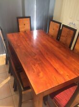 Dining table and chairs Nerang Gold Coast West Preview