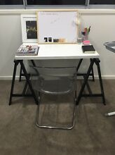 Trestle table and ghost chair New Farm Brisbane North East Preview
