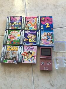 Nintendo game boy advance console and games lot sale Berkshire Park Penrith Area Preview