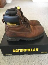 Steel capped Caterpillar work boots US size 12 Manly Manly Area Preview