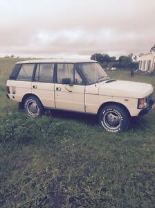 1983 V8 Dual Fuel RANGE ROVER STATION WAGON Dimboola Hindmarsh Area Preview