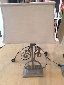 2 x French style bedside/lounge room lamps Lane Cove Lane Cove Area Preview