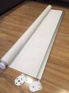 Roller blinds - White x 3 Northbridge Willoughby Area Preview