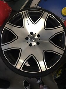 20 inch wheels and tires to fit Mercedes-Benz W203 Mount Gravatt East Brisbane South East Preview